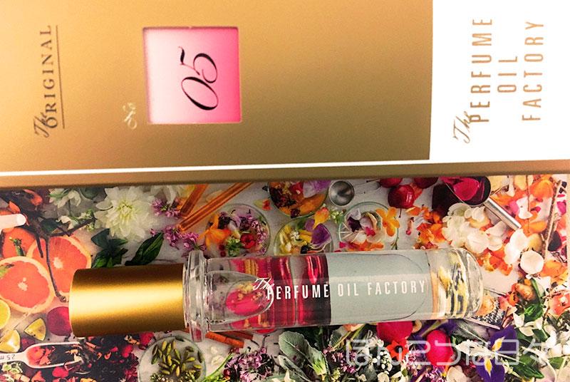 パフュームオイルファクトリー05番ローズのオイル香水の画像