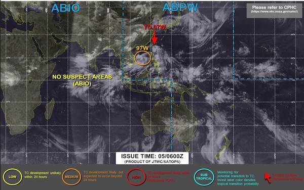 台風6号2021インファのたまご進路予想米軍やヨーロッパ気象