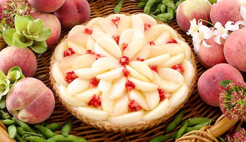 キルフェボン桃とずんだのタルト カロリー