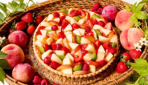 キルフェボン桃と夏の果実のタルトカロリー (1)